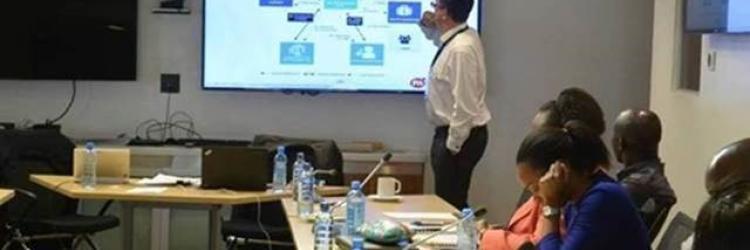 Mark Williams providing CP3P training in Africa